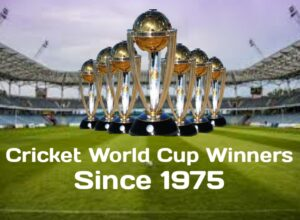 Cricket World Cup Winners Since 1975