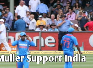 Thomas Muller Support India Cricket Team