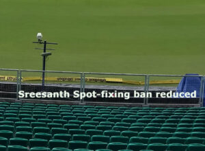 Sreesanth Spot fixing ban reduced
