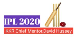 Kolkata Knight Riders Team appoint Devid Hussey as Chief Mentor