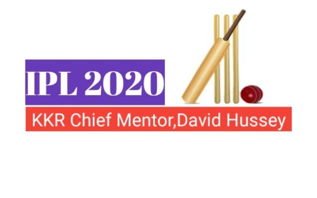 Kolkata Knight Riders Team appoint Devid Hussey as Chief Mentor
