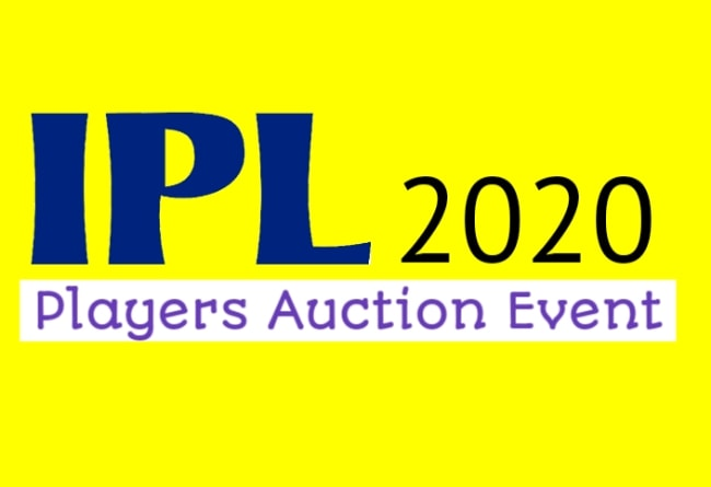 IPL 2020 auction date and place