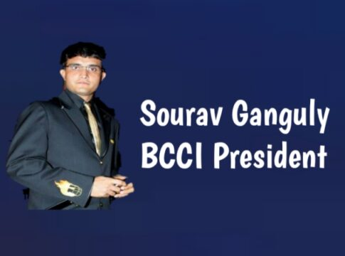 Sourav Ganguly comes in BCCI President position
