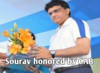 Sourav will be honed by CAB after becoming BCCI president