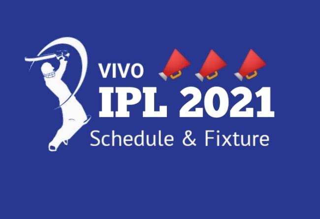 Vivo Ipl 2021 Schedule Pdf Download Fixtures Team Venue Time Table Cricket World Cup Winners