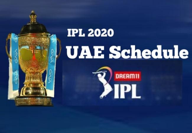 Ipl 2020 Uae Schedule Cricket World Cup Winners
